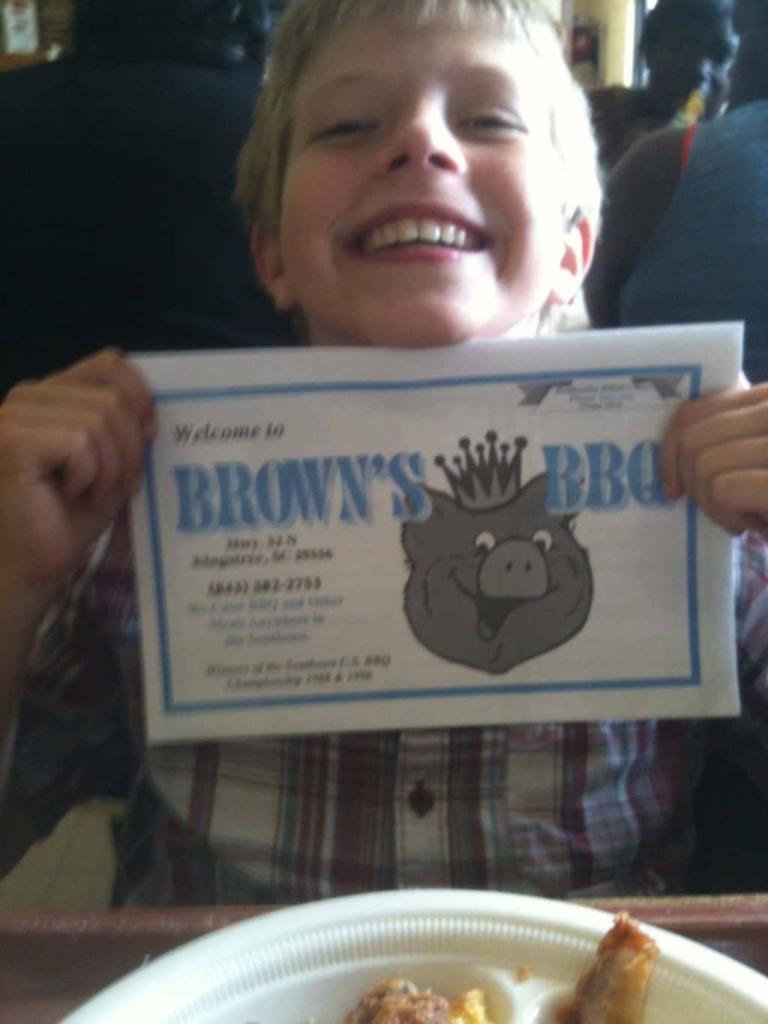 Brown's BBQ, Kingstree, SC