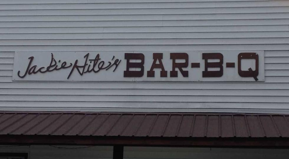 Jackie Hite's Bar-B-Q - Sign