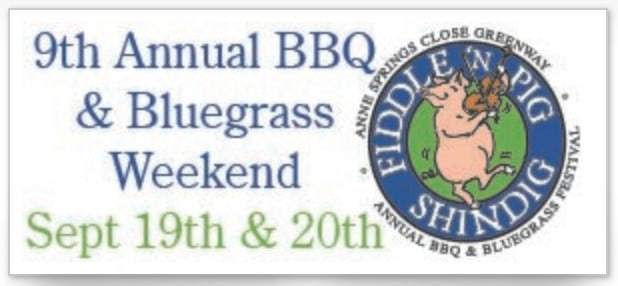 Fiddle 'n Pig Shindig Annual BBQ & Bluegrass Festival Logo