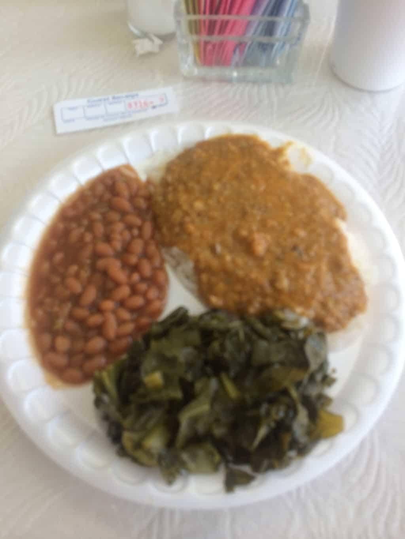 True BBQ Plate