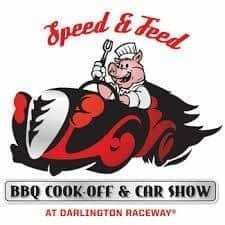 Speed and Feed BBQ and Car Show Logo