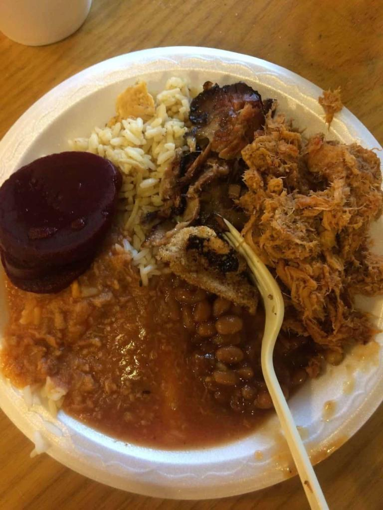 Kelly's Barbecue Plate