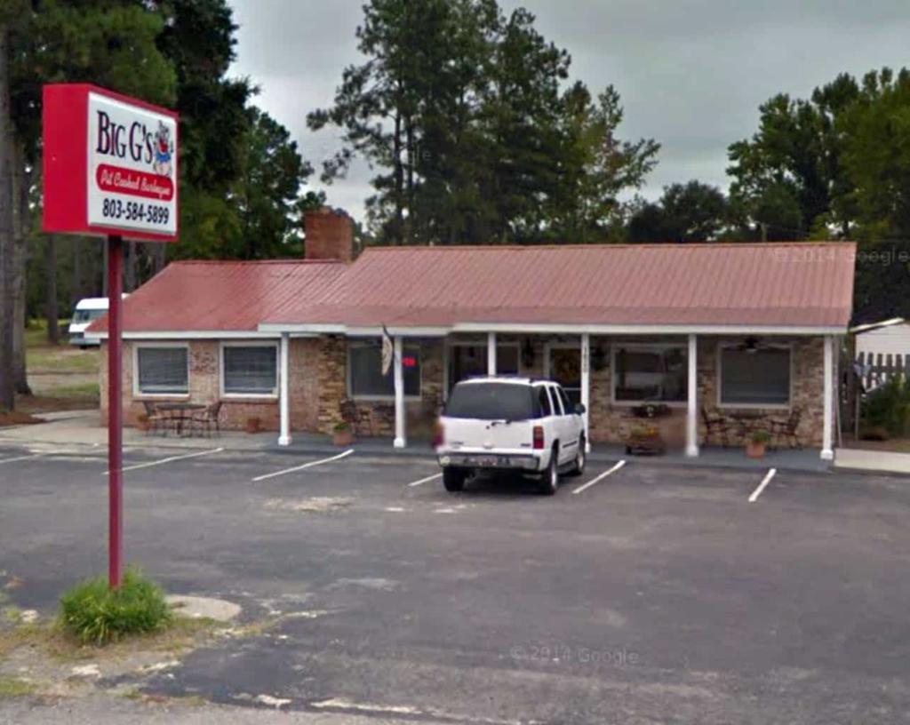 Big G's BBQ in Allendale, SC