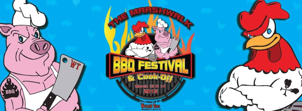 Marshwalk BBQ Festival in Murrell's Inlet, SC