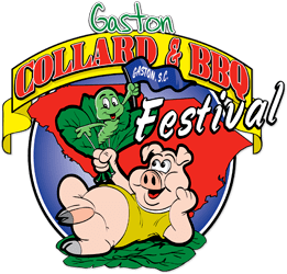 Gaston Collard and BBQ Festival Logo