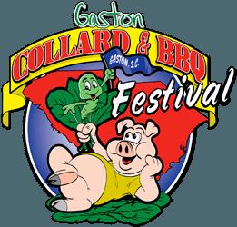 Gaston Collard and BBQ Festival Logo
