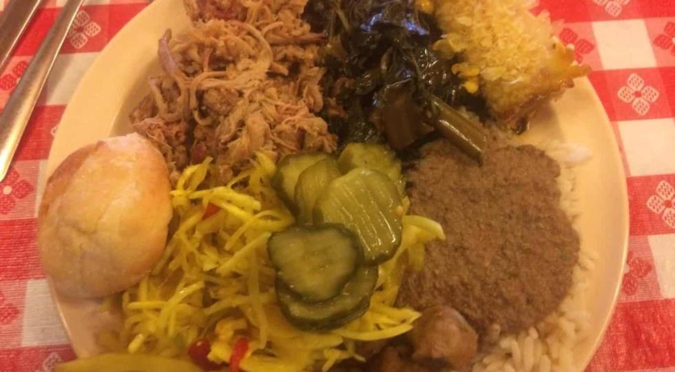 Shuler's BBQ Plate in Latta, SC
