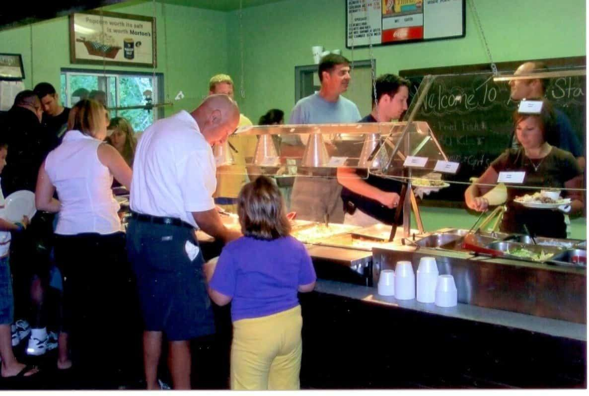 Lone Star Barbecue and Mercantile - Buffet Line