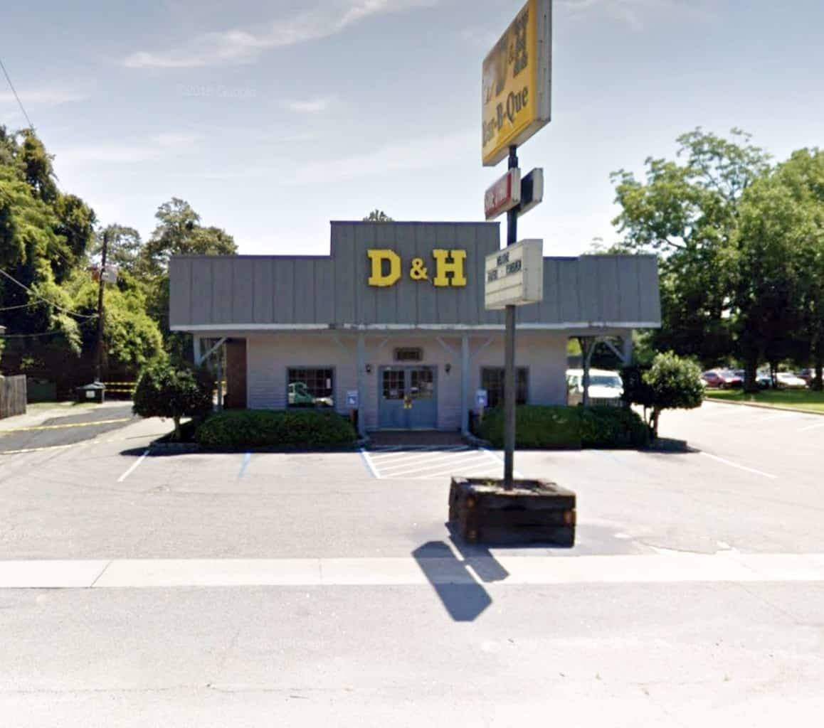 D&H BBQ in Manning, SC