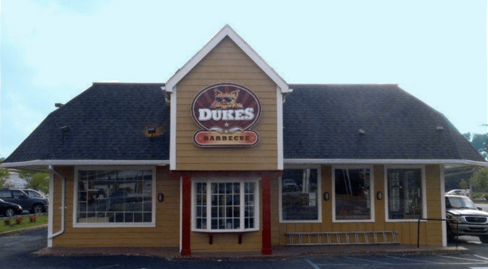 Dukes BBQ on Folly Rd. James Island