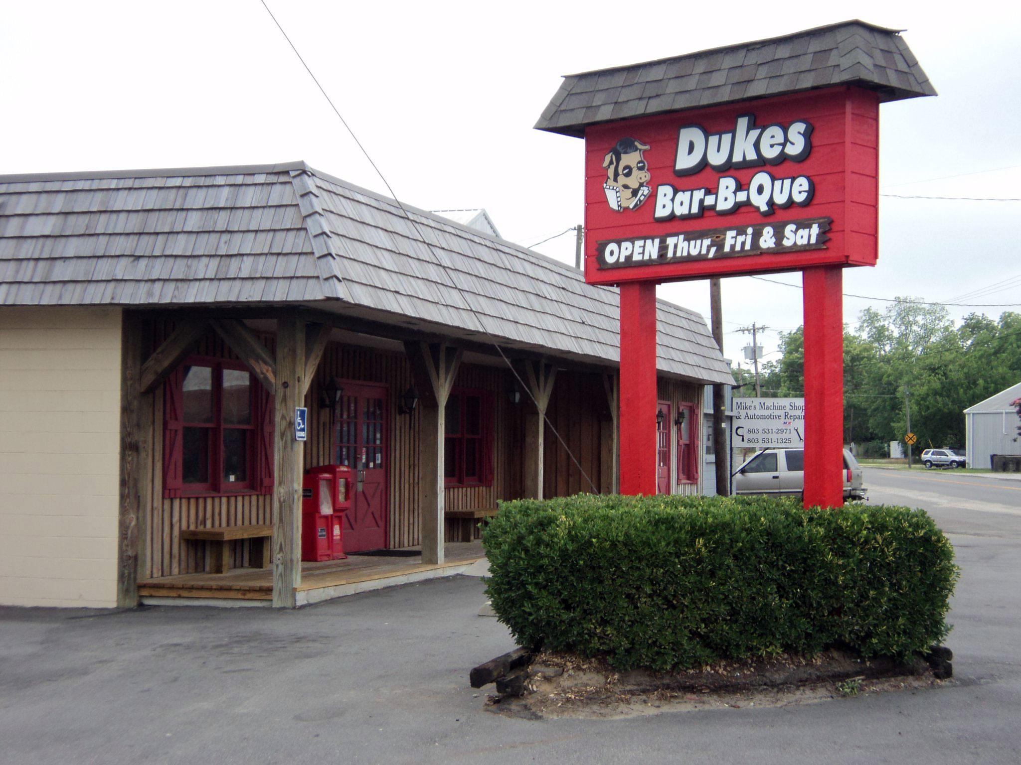 Dukes Bar-B-Que on Whitman in Orangeburg