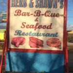 Herb & Shawn's in Georgetown - Sign