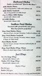 Menu 4 for Herb's BBQ & Seafood in Georgetown