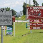 Cooper's Country Store in Salters - Signs