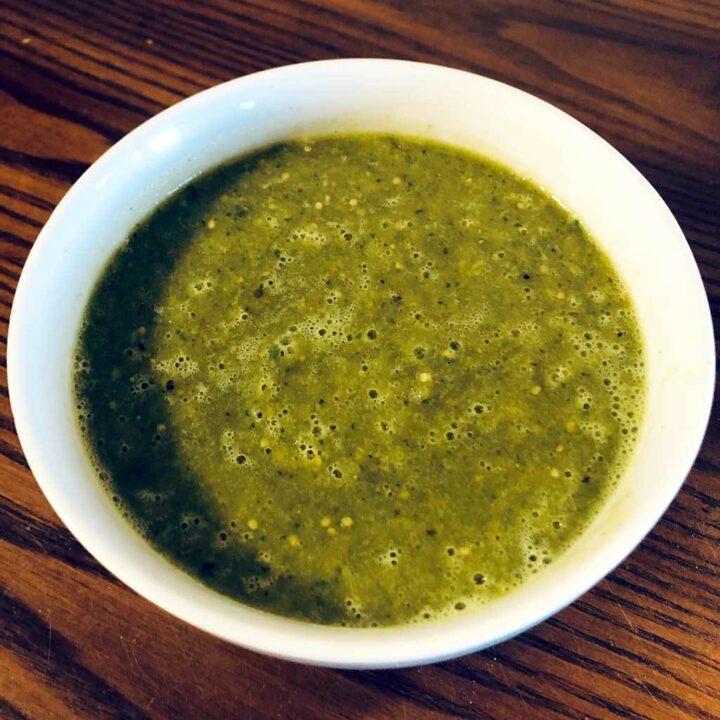 Salsa Verde for Pulled Pork