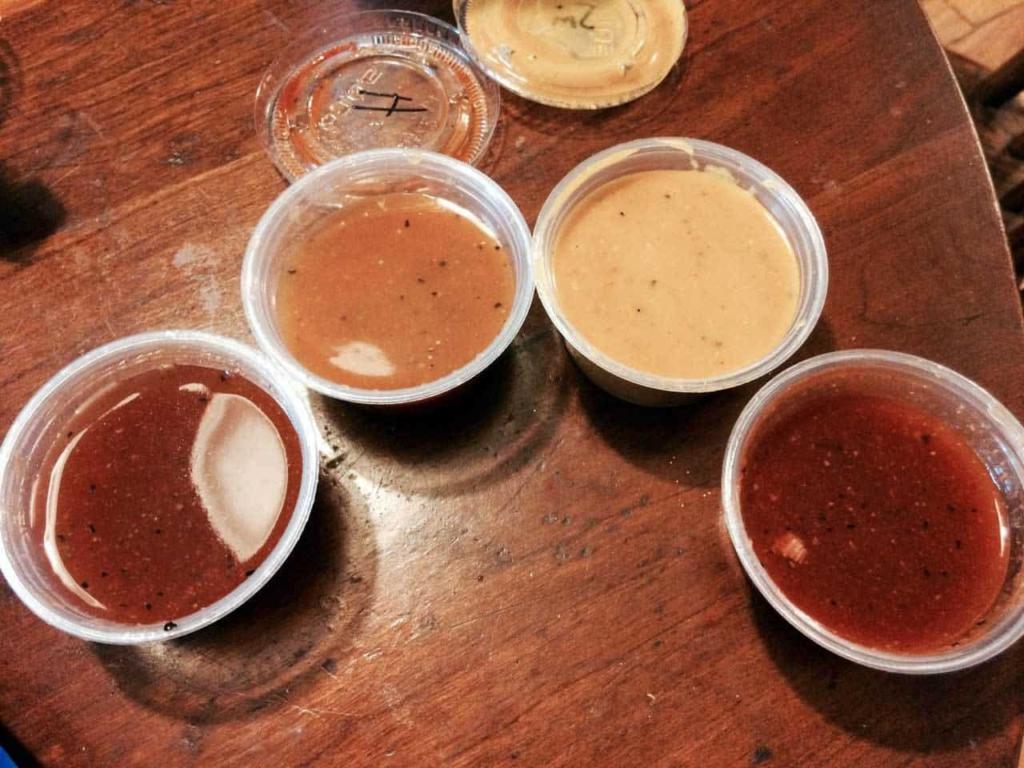 BBQ Barn in N. Augusta - Sauces