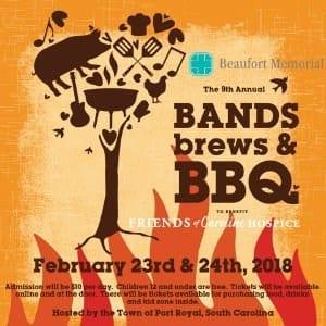 Bands Brews & BBQ at Port Roya,l SC