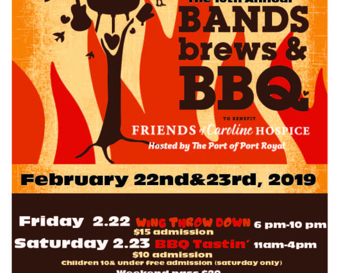 Bands, Brews & BBQ (SCBA)