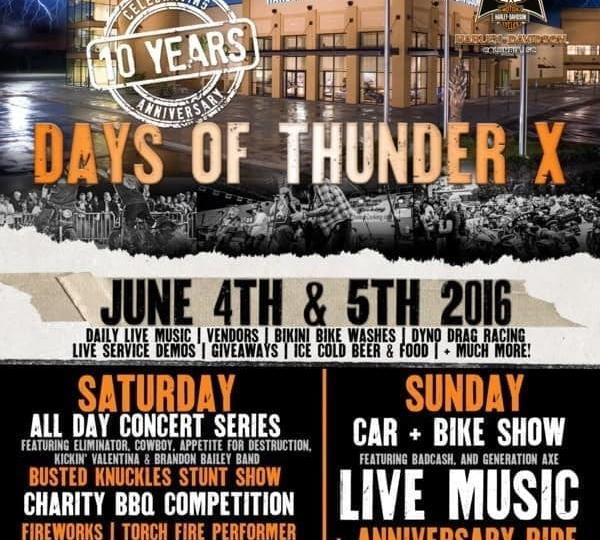 Days of Thunder X