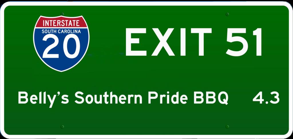 SC BBQ on I-20 at Exit 51