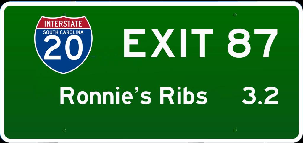 SC BBQ on I-20 at Exit 87