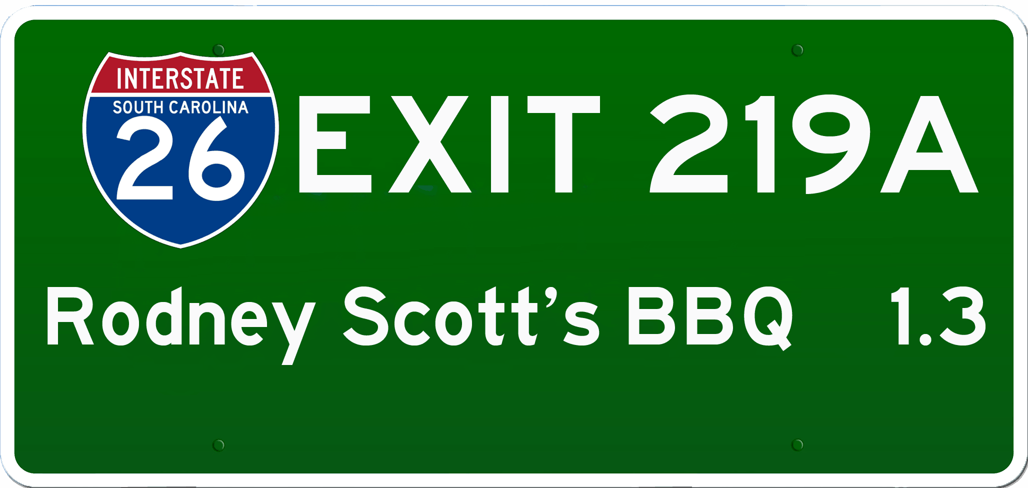 C BBQ on I-26 at Exit 219A