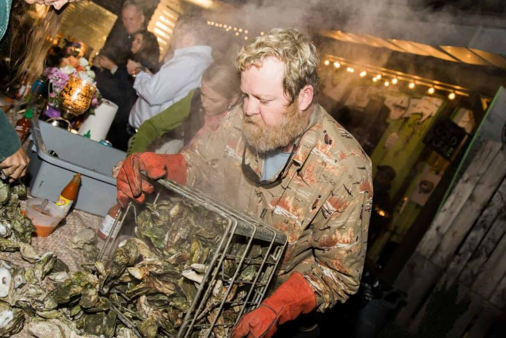 Charleston's RightOnQue - Oyster Roast