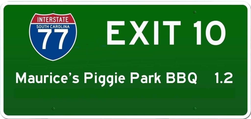 SC BBQ on I-77 at Exit 10
