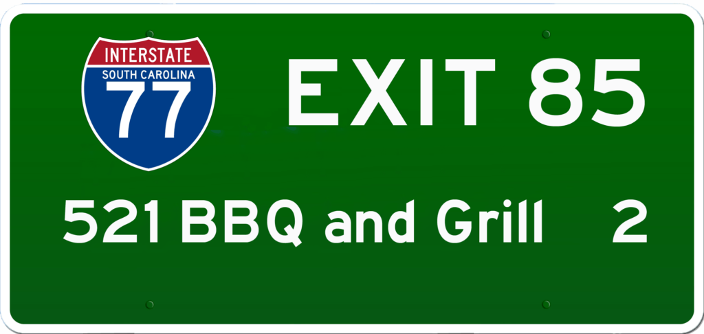 SC BBQ on I-77 at Exit 85