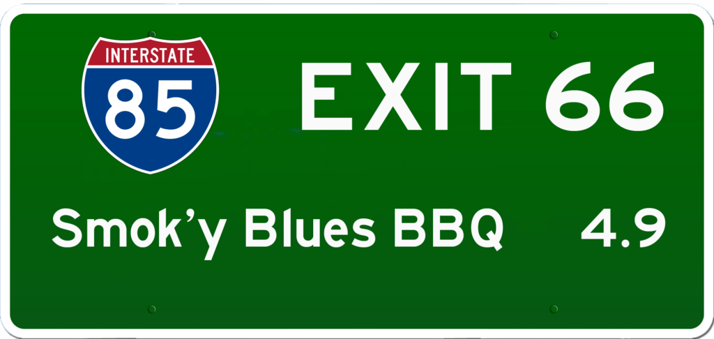 SC BBQ on I-85 at Exit 66