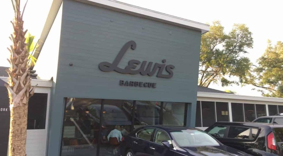 Lewis Barbecue - Front