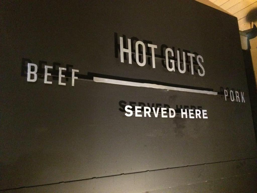 Lewis Barbecue - Exterior Signage