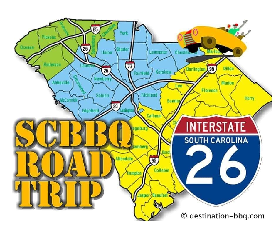 SC BBQ Road Trip: I-26 Restaurant Field Guide
