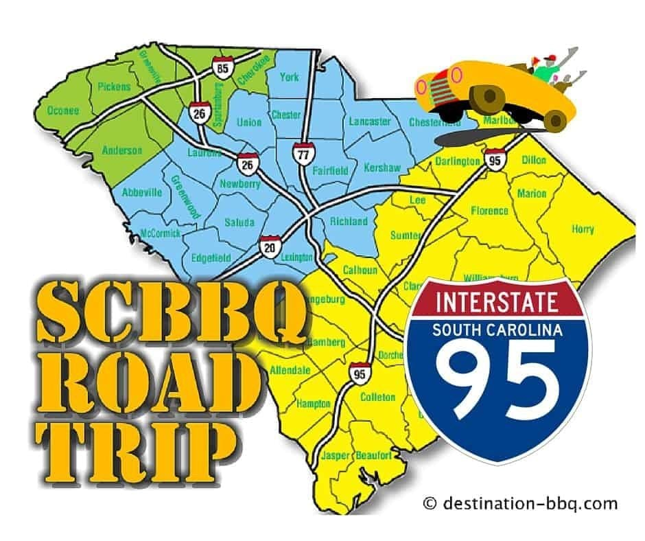 SC BBQ Road Trip: I-95 Restaurant Field Guide
