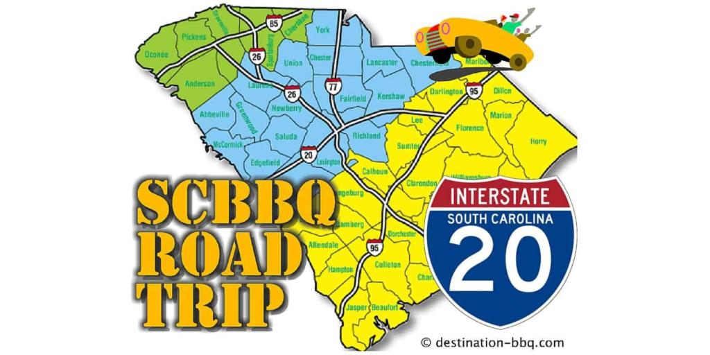 SC BBQ Road Trip: I-20 Restaurant Field Guide