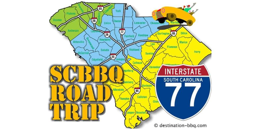 SC BBQ Road Trip: I-77 Restaurant Field Guide