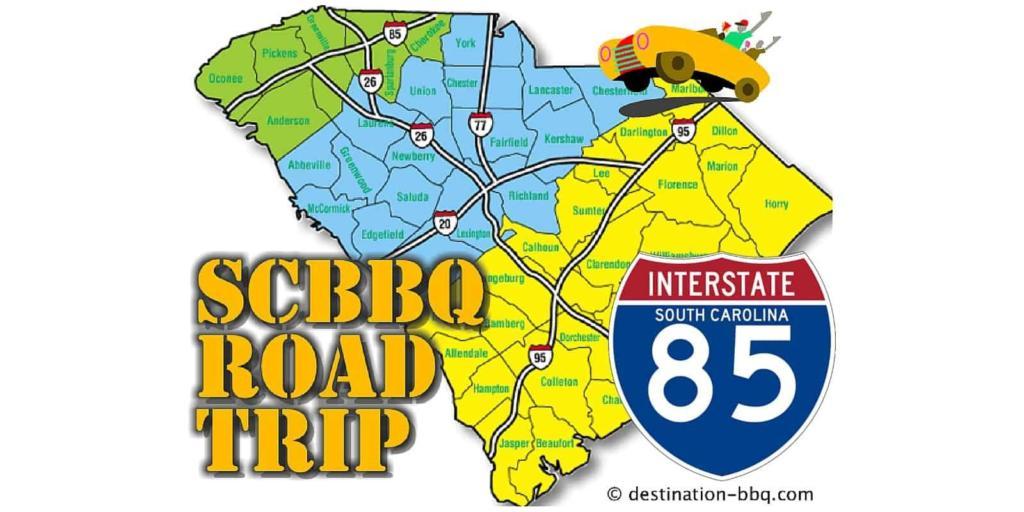 SCBBQ Road Trip: Interstate 85