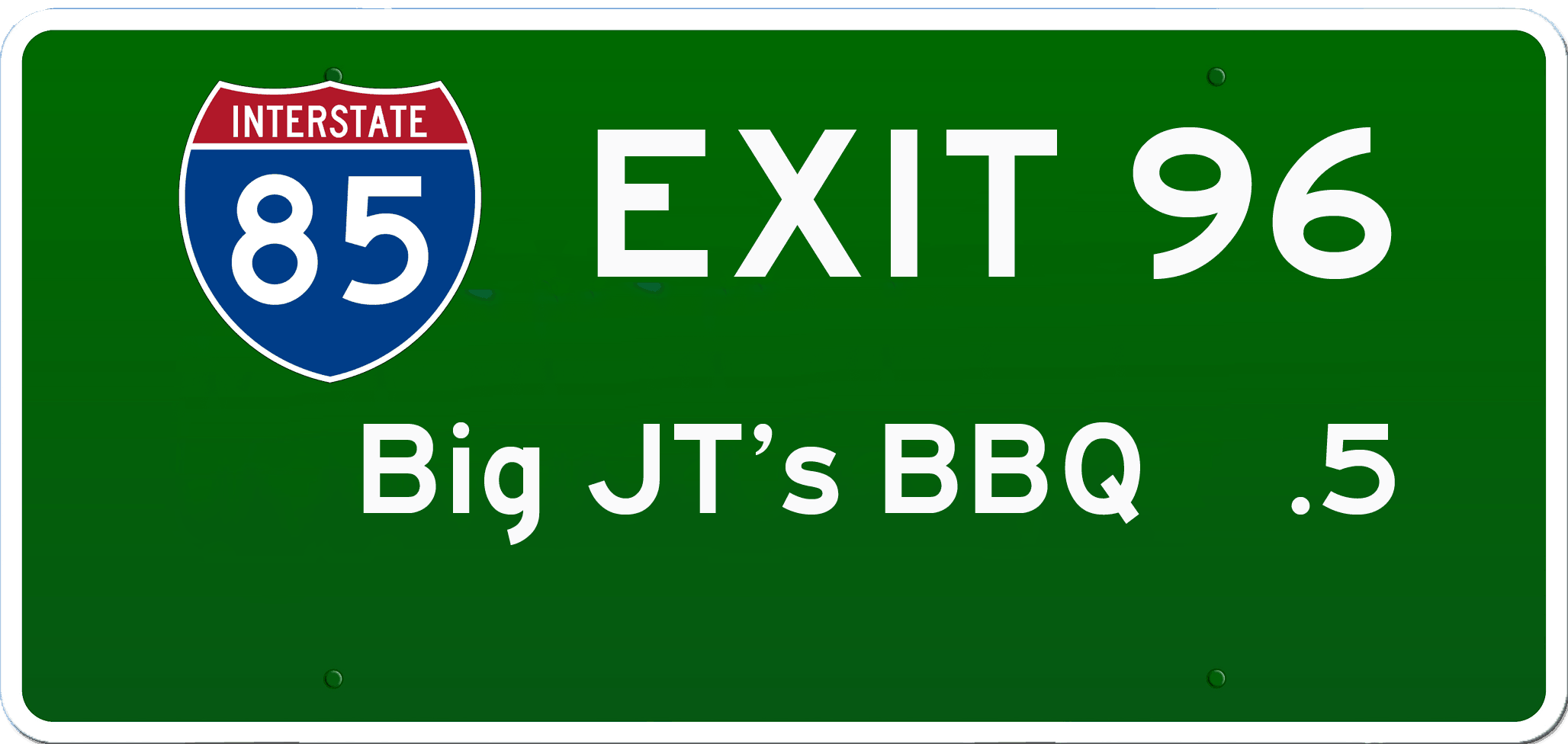SC BBQ on I-85 at Exit 96