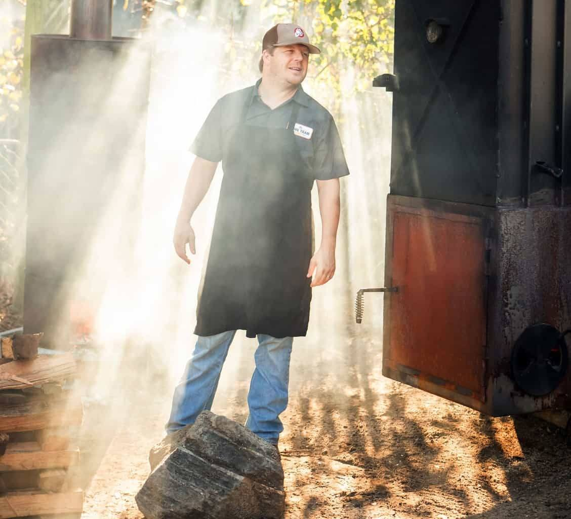Aaron Siegel, founder of Home Team BBQ