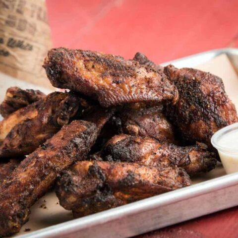 Aaron Siegel Home Team BBQ Smoked Chicken Wings