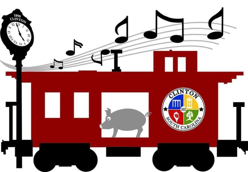 Smokin' on the Rails in Clinton, SC