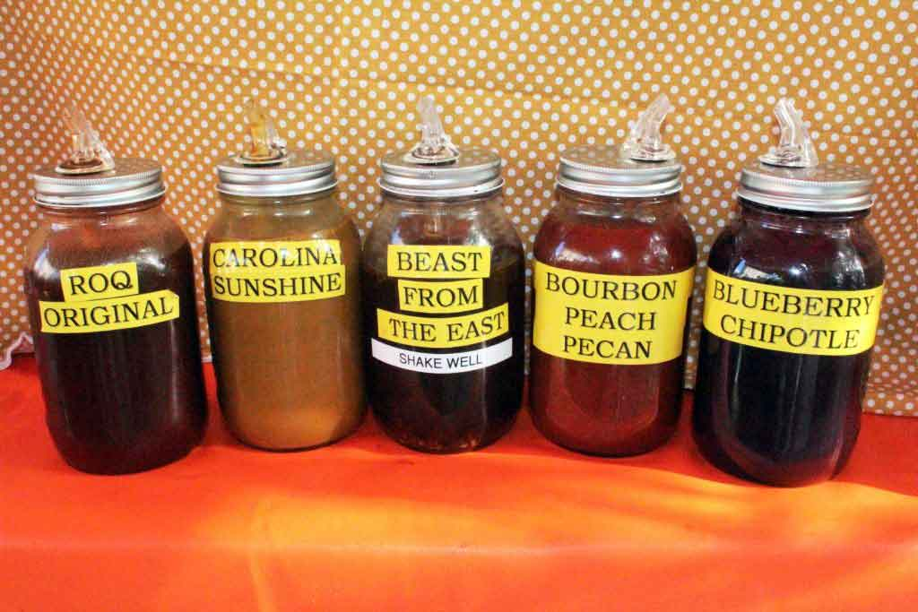 Gregg Howards BBQ Sauce Selections