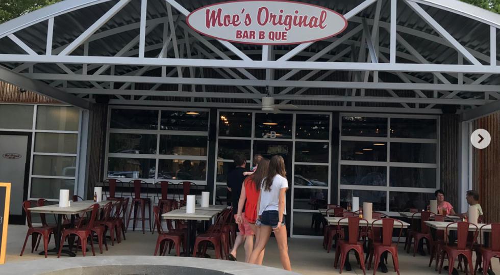 Moe's Original BBQ in Greenville