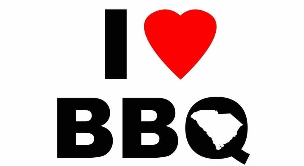 I Love (Heart) SC BBQ