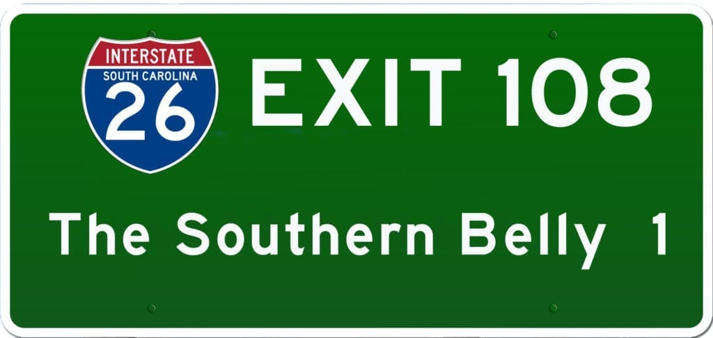 SCBBQ Road Trip: Interstate 26 Exit 108