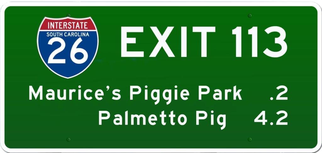 SC BBQ on I-26 Exit 113
