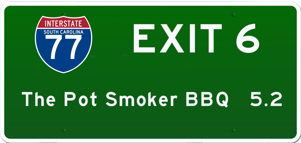 SC BBQ on I-77 at Exit 6