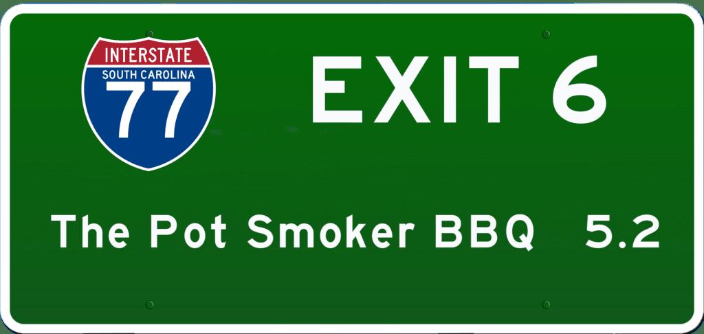 SC BBQ on I-77 at Exit 6