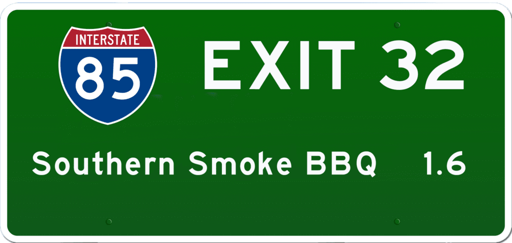 SC BBQ on I-85 at Exit 32