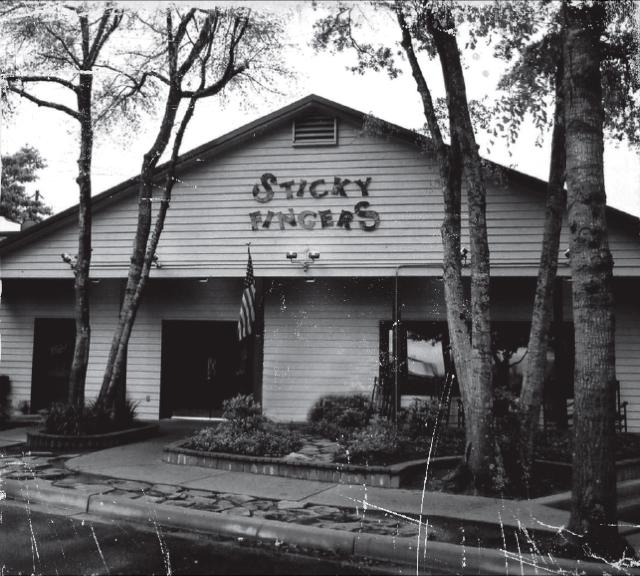 Original Sticky Fingers restaurant in Mt Pleasant around 1995